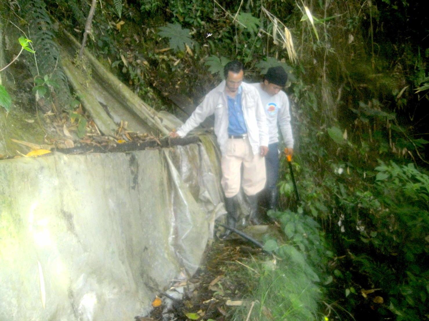 Preparazione del sottobosco per le condotte d'acqua (3)